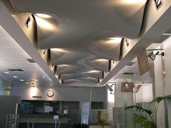 Lacquer Stretch Ceiling Models Gergi Tavan Germe Tavan