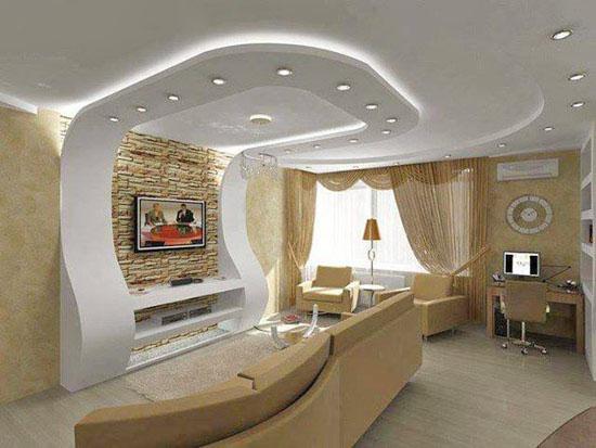 Salon Tavan Dekorasyonu